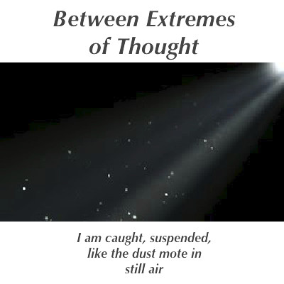 Between Extremes of Thought